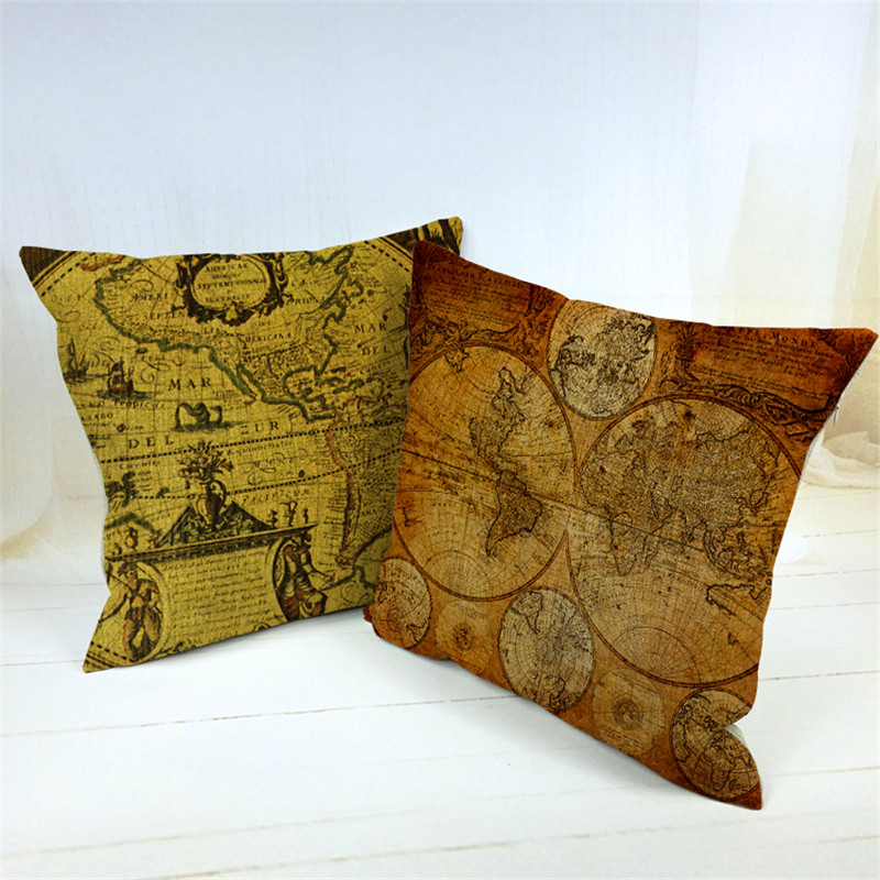 Vintage Looking Throw Pillows : Vintage Decorative Pillows - Nudist Slut Gallery