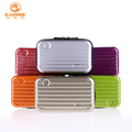 ABS+PC Mini Cosmetic Makeup Case Toiletry Handbag Travel Suitcase with Wristlet