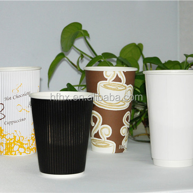 HXIN custom coffee cups insulated paper cup biodegradable coffee cups