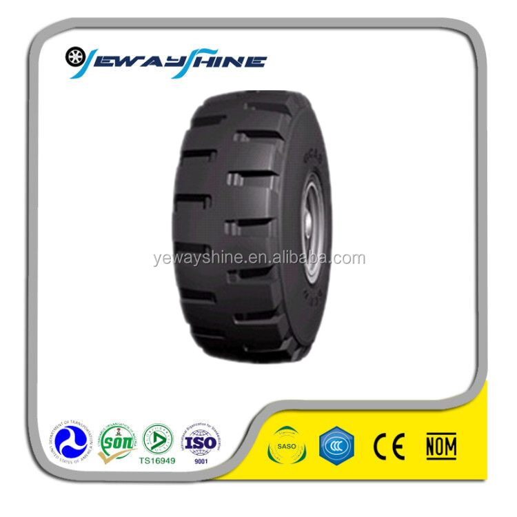 high quality OTR tire with DOT ECE size 17.5R25 radial tire
