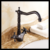 European oil rubbed black bronze deck-mounted water faucet