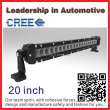 CE RoHs IP68 Waterproof Aurora IP69k waterproof and dust proof 20inch single row led light bar 4x4 accessory
