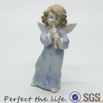 Little Porcelain fairy angel wing statue