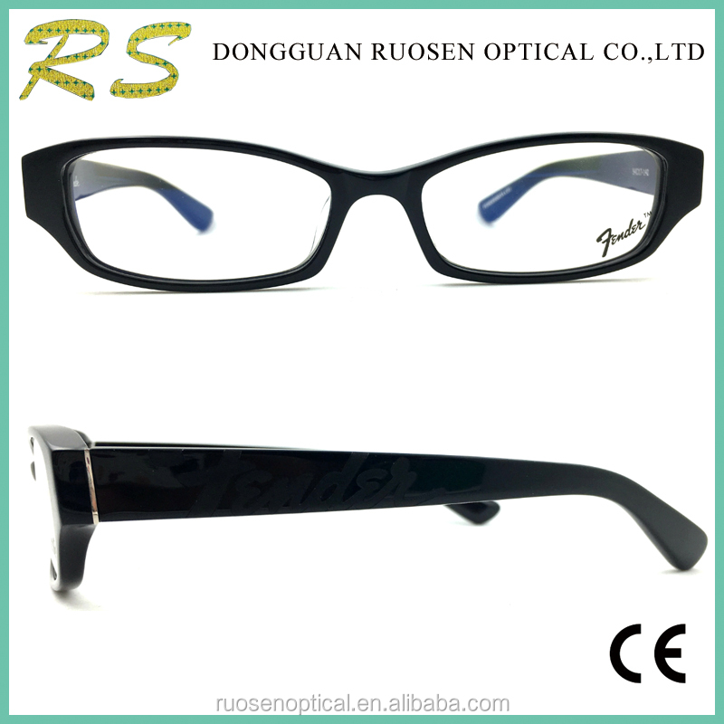 Handmade custom fashion prescription glasses frames japanese eyewear brands rectangle acetate optical frame