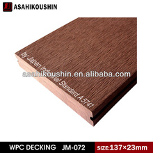 Surface treatment UV-resistance stain-resistance WPC decking board