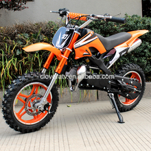 Chinese 2 Stroke Dirt Bike 49cc Mini Motorcycle with Button Electric Start