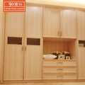 Wholesale bedroom furniture custom built premade wood cabinet closet organizers designs