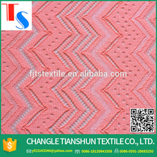 2016 China Wholesale 100% Polyester Cord Lace Fabric