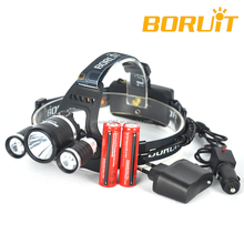 Boruit Original Rechargeable CREE T6 LED Headlamp RJ-3001(R5)