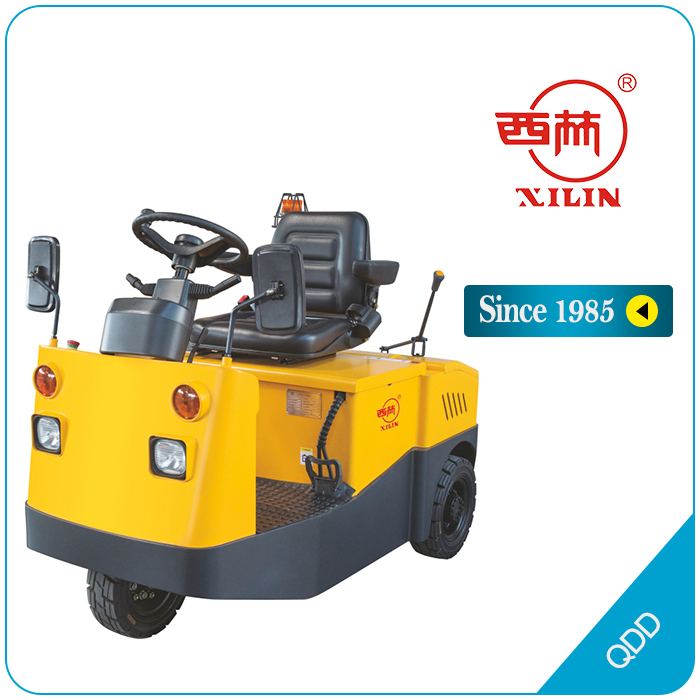 Xilin electric tow tractor (with trailer) - QDD / DT