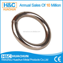 O-shaped stainless steel round snap carabiner hook HC-IS010