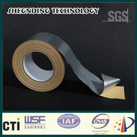 Adhesive tape! Heat Resistance High strength glue Synthetic Rubber Aluminum Foil Tape