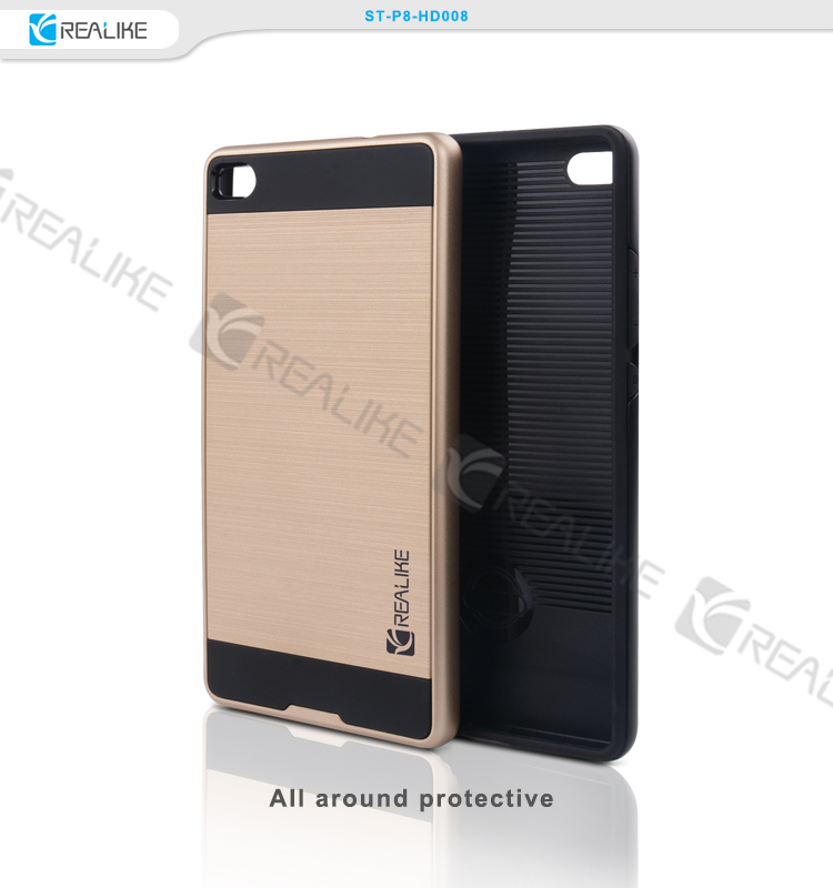 2016 Delicate Design back cover case for huawei ascend p6
