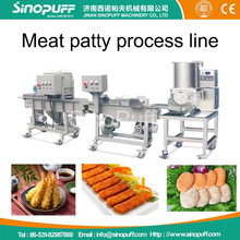 Meat Patty Machine/patty making machine/Meat Patty Process Line