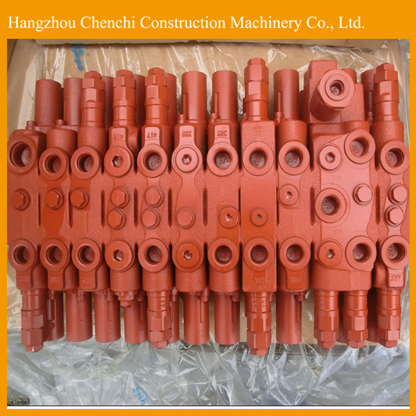 YC60 excavator hydraulic parts Kayaba distribute valve