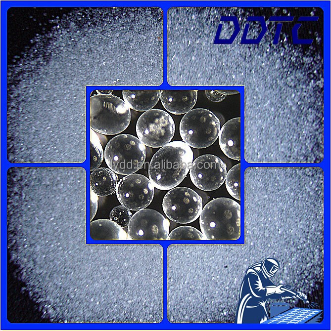 Manufacturer in China Mainland for Sand Blasting Media Surface Finish Abrasive Cleaning Grain Glass Beads