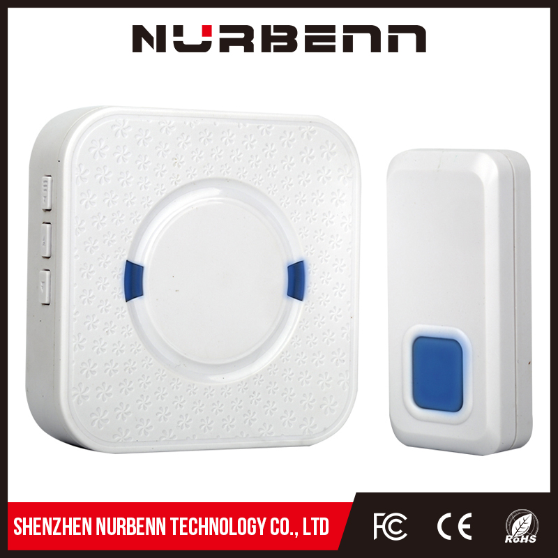 High quality long duration time wireless digital code doorbell for bathroom