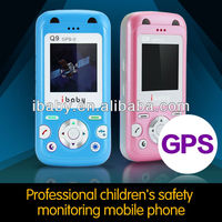Cute Q9G baby gps locator cell phone