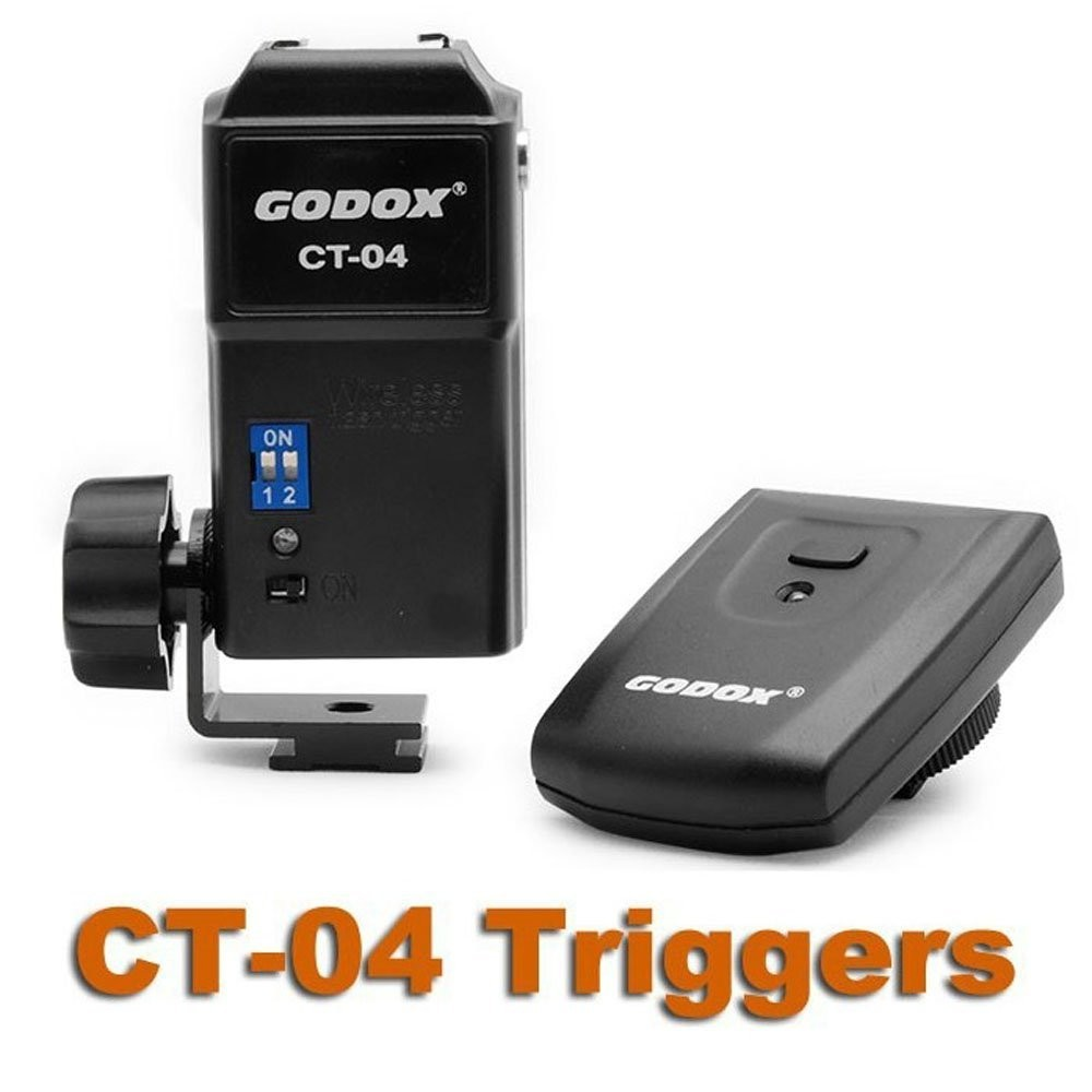 GODOX CT-04 Photo Flash Speedlite Trigger Wireless Remote Control 30M 4CH Sync Speed 1/200s for Canon for Nikon forPentax