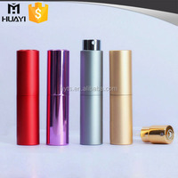 8ml 10ml pocket sized aluminium twist fragrance bottle atomizer