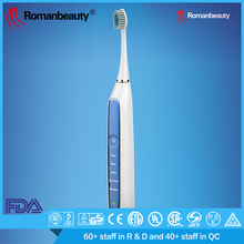 Customized Color battery powered ultrasonic electric toothbrush