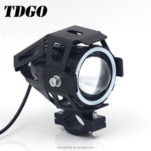 Flexible led headlights motorcycles for motorcycles bike electrombile with angel evil eyes