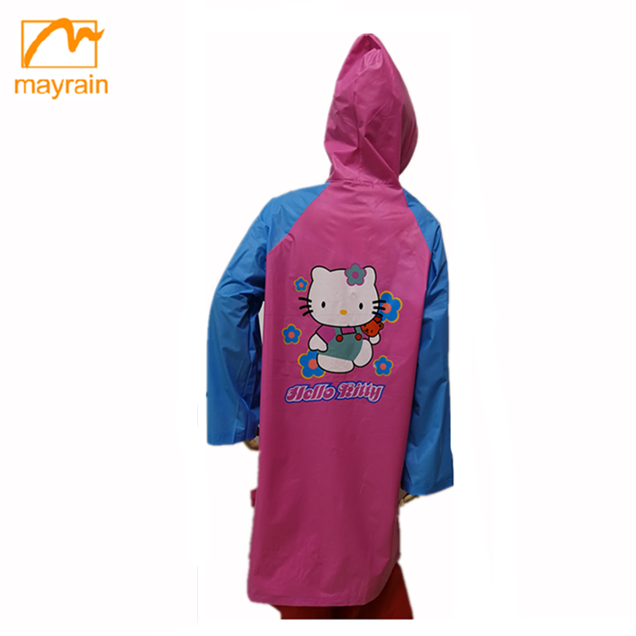 2017 Cute cat Printed Sweet Children clothing