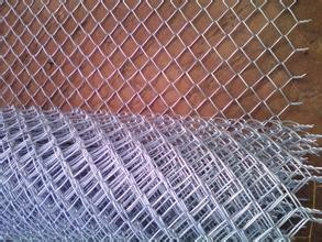 6FT sliver galvanized chain link for security