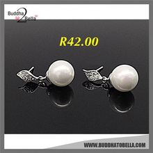 Best selling simple design dangle women earring eardrop with workable price