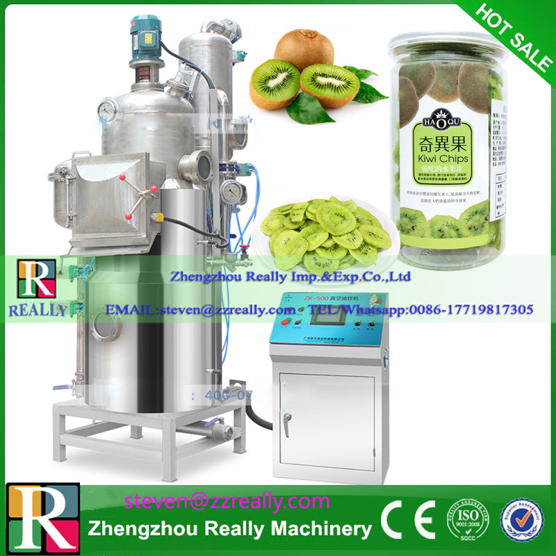 Industrial Vacuum Potato Banana Chips Frying Machine