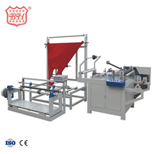 Baihao Manufactured Products Automatic Plastic PP Film Bag Side Folding Machine