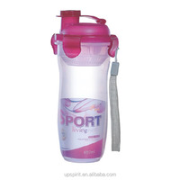 Hot Sale 2 Color 680ML Large Capacity BPA FREE PP Safe Material Double Mouth Lid and Hot or Cold WaterPlastic Sport Bottle Water