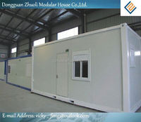 Help with the prefabricated living prefab container villaswith a realistic price and budget
