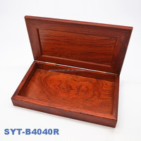 High end gift crafts wooden pen packaging box