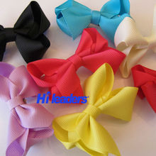 Customized Printed and Various Design Grosgrain Ribbon Bow
