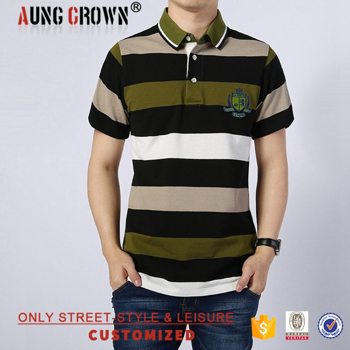 100% Cotton Short Sleeves Adult Polo Shirt