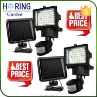 Large Outdoor 60/100 LEDS Solar Flood Motion Sensor Security Light for Garden