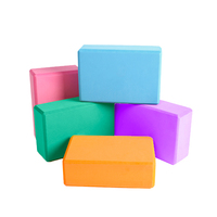 Wholesale High Quality Exercise Yoga Block ,Recycled EVA Foam Yoga Brick,Foam Block hot sale