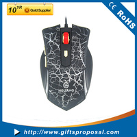 Cool Wired Gaming Mouse Adjustable DPI Fast Speed Computer Mouse Wired Mice for Laptop