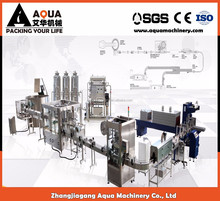 Aqua machinery mineral water factory for sale