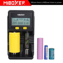 Miboxer New C2-4000 18650 Charger Tester Battery Charger Discharger 3.6v nimh Battery Charger