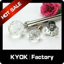 KYOK Arabic Muslim style cheap curtain finials for curtain rod finials,kids curtain rods finials