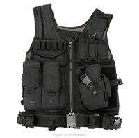 Outdoor Military Tactical mesh Vest Army Airsoft Game Hunting Vest for Camping Hiking
