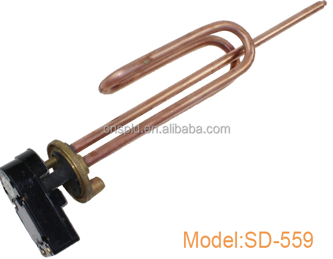 Customized standard design 2000w electric water heater heating element