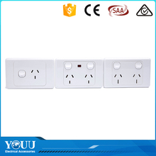 Trending Hot Products YOUU 15A Powerpoint Wall Touch Switch One Button And One Socket With SAA