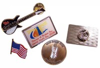 Classic Design Colorful Aluminum Lapel Pin