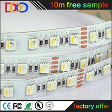 high quality brightness 5050 rgbw led strip 5m/roll packing ,with very competitive factory price