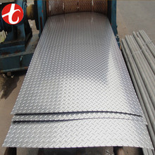 ASTM 304 316 Anti skid Stainless Steel Checkered plate sizes / Stainless Steel Checkered sheet