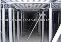PVC conductive steel raised floor