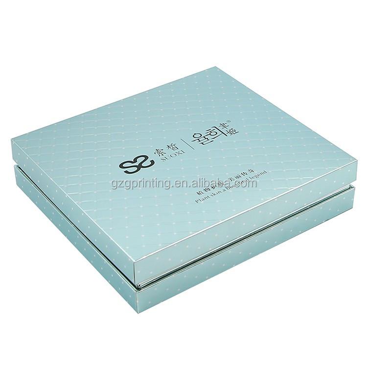 OEM fabricante de impressão chapéu de luxo forro de seda cosméticos caixa de papel de embalagem de presente para o dia dos namorados